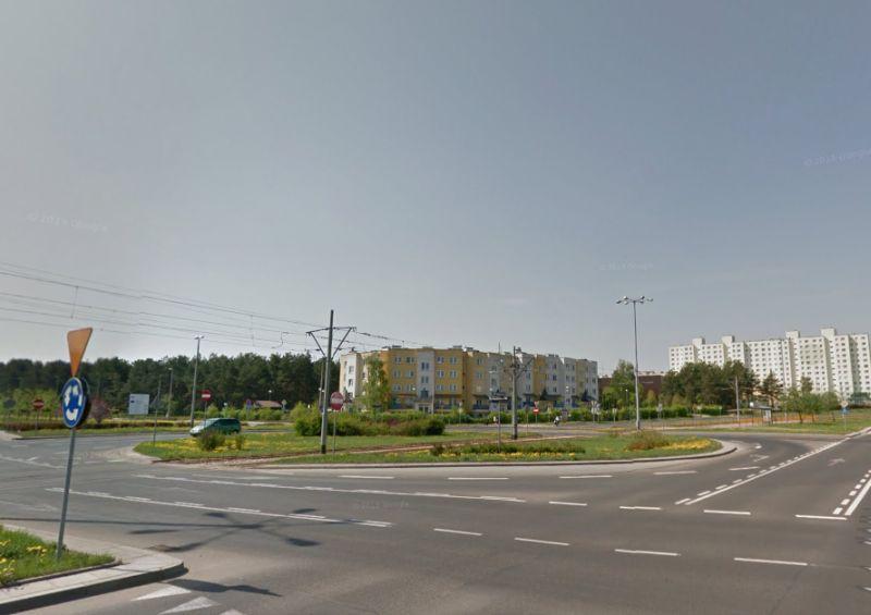 Plac Honorowych Dawców Krwi - źródło Google Maps